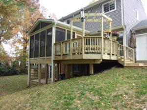 porch - Evergreen Fence & Deck