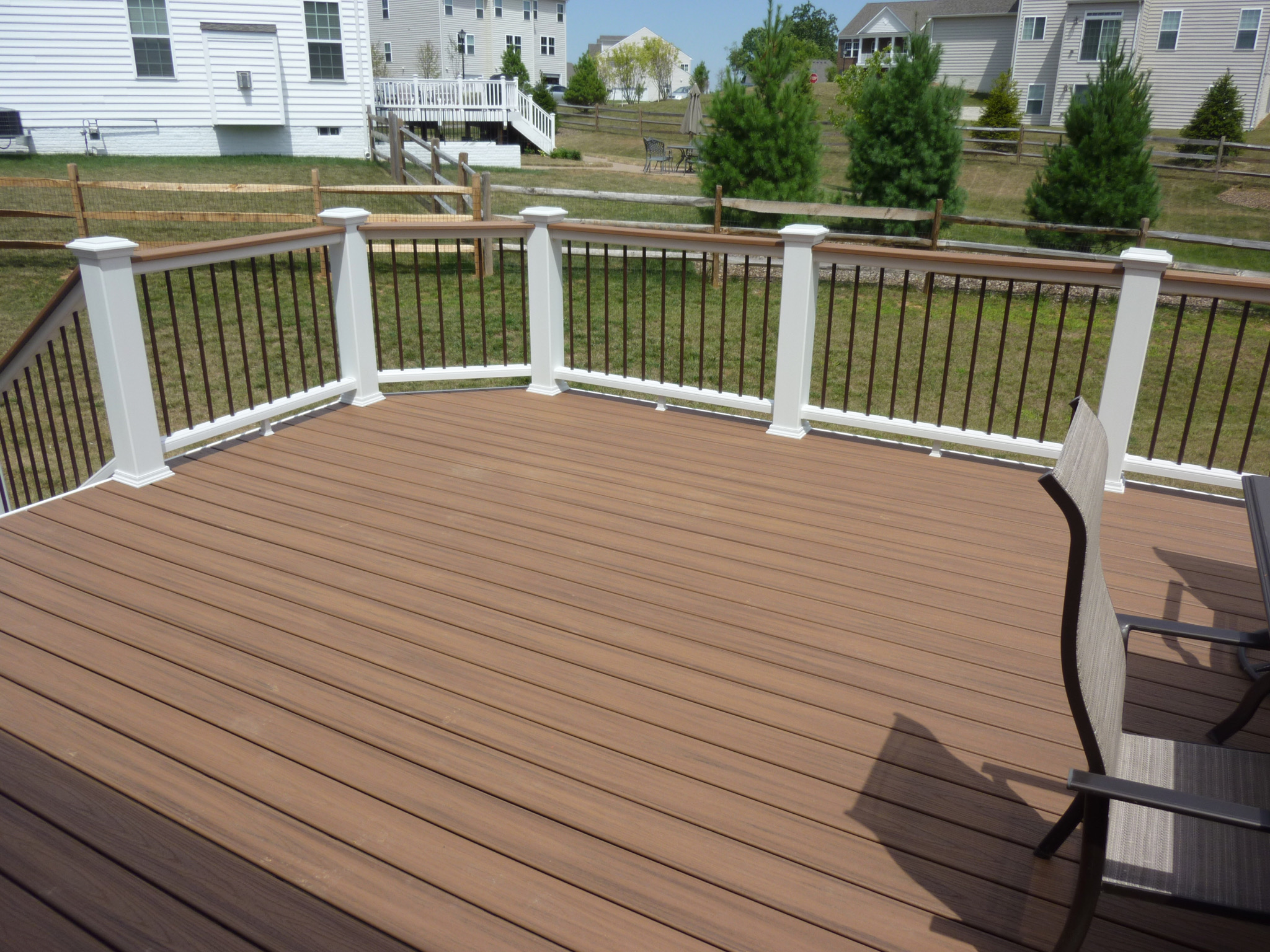 Evergreen Fence Amp Deck Fence Deck Porch Amp Patio
