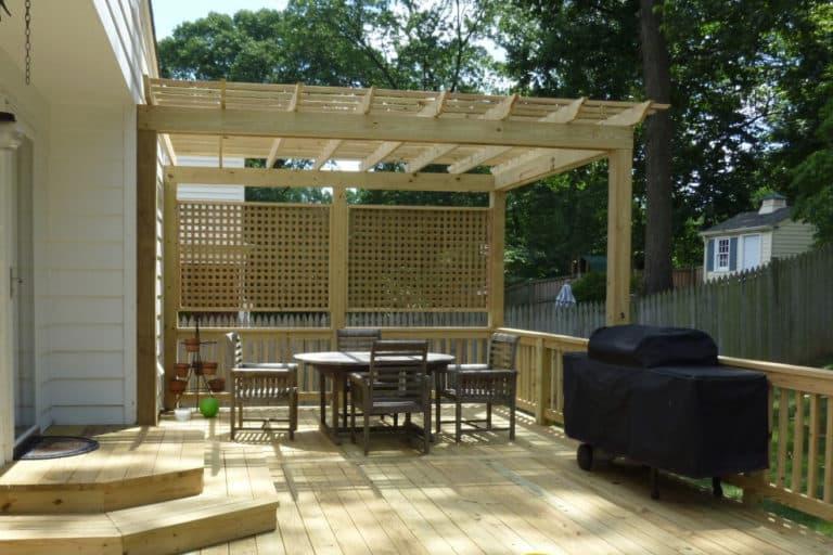 patio - Evergreen Fence & Deck
